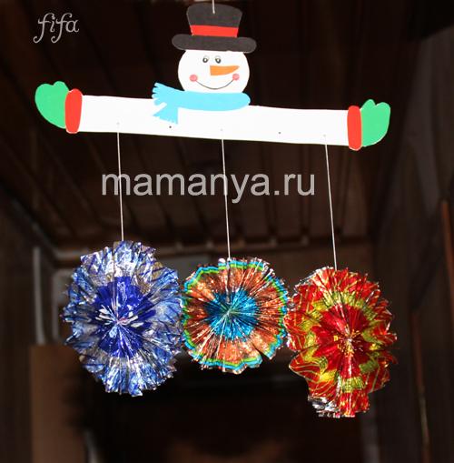 Сделать новогодние букеты своими руками